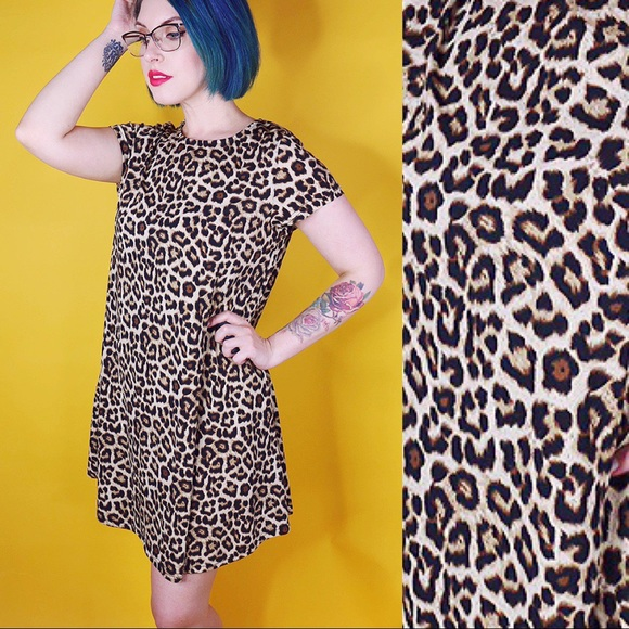 Glamorous Dresses & Skirts - Leopard Print Shift Dress